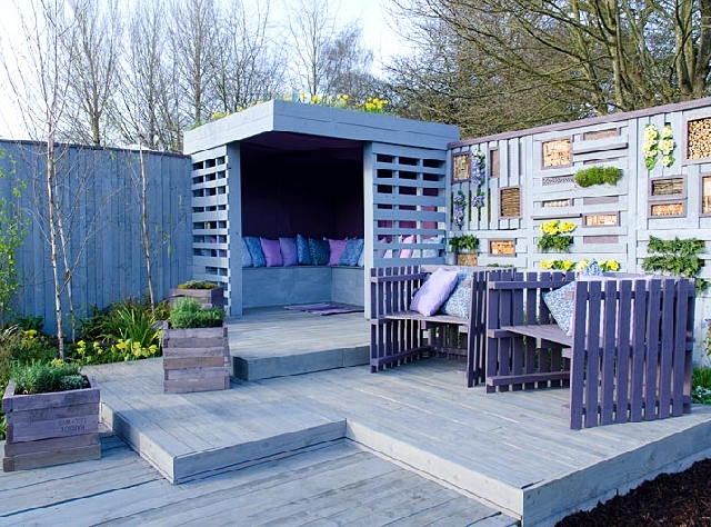New garden ideeas made from recycling