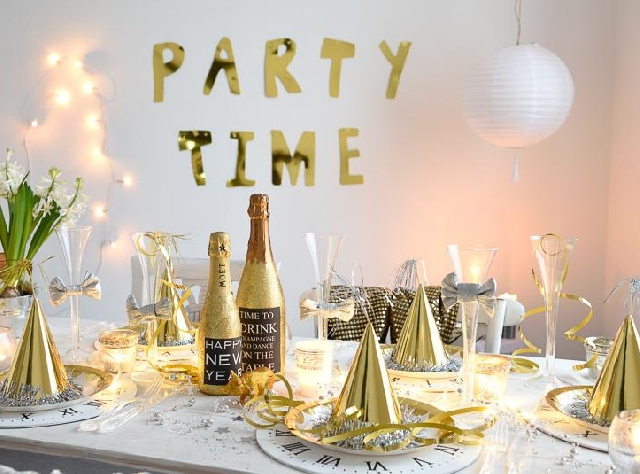 New Year's Eve Party Decorations - DIY